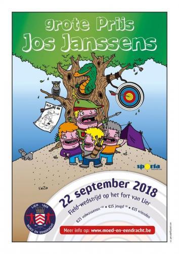 Uitnodiging - Field op 't Fort van Lier 2018 - Grote Prijs Jos Janssens