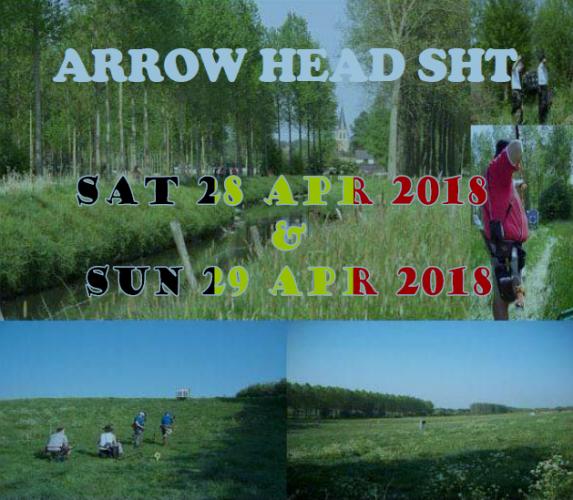 Uitnodiging Arrow Head 2018
